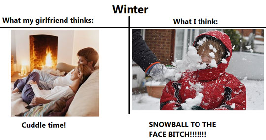 what i think of winter