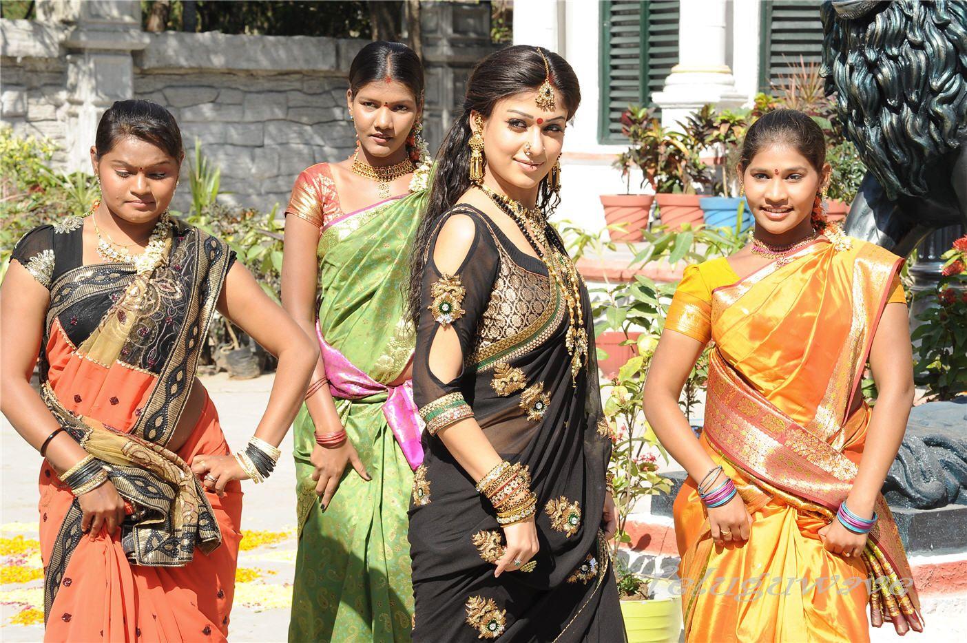 Nayantara in saree