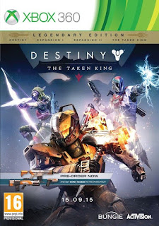 Destiny The Taken King Legendary Edition (X-BOX 360) 2015
