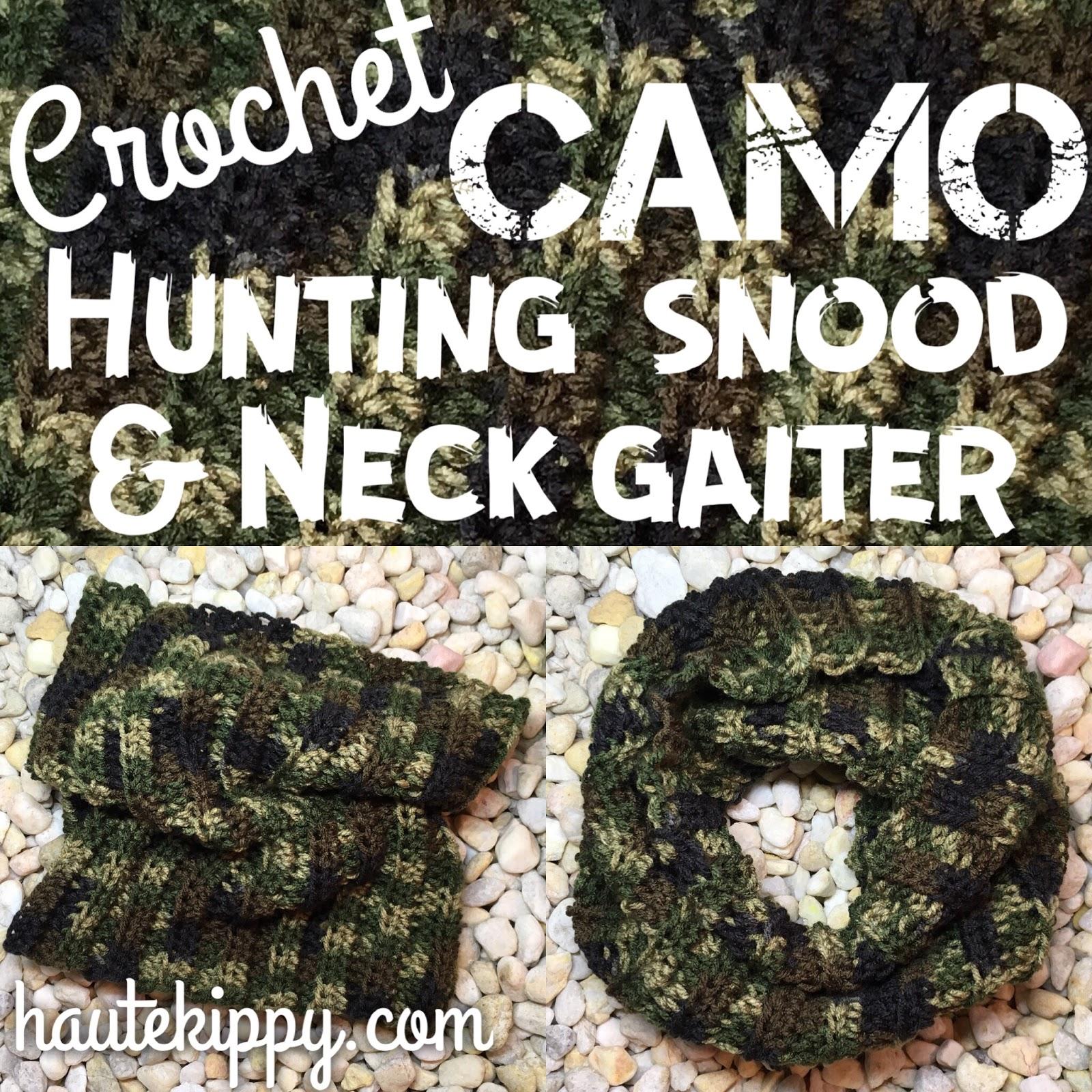 Haute Kippy Camo Hunting Snood