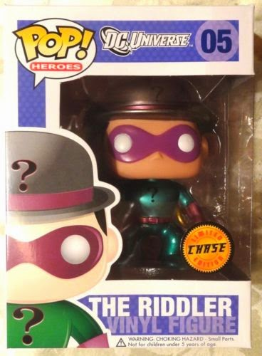 Pop! Heroes The Riddler (Metallic) $559.99