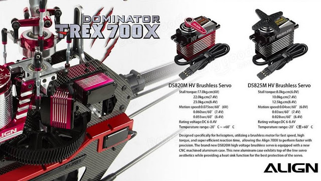 RC Helicopter Super Combo Align TREX 700X Dominator 5