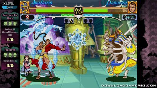 Darkstalkers Resurrection PSN - Download game PS3 PS4 RPCS3