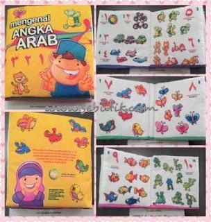 Buku Bantal Islami Angka Arab