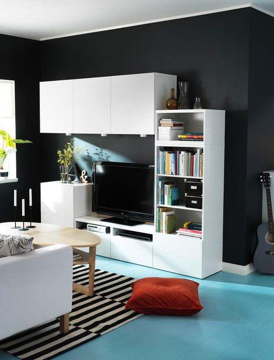 muebles salon ikea besta 20170821022404. Black Bedroom Furniture Sets. Home Design Ideas