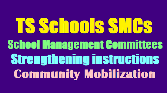 School Management Committees (SMCs) strengthening instructions -Community Mobilization