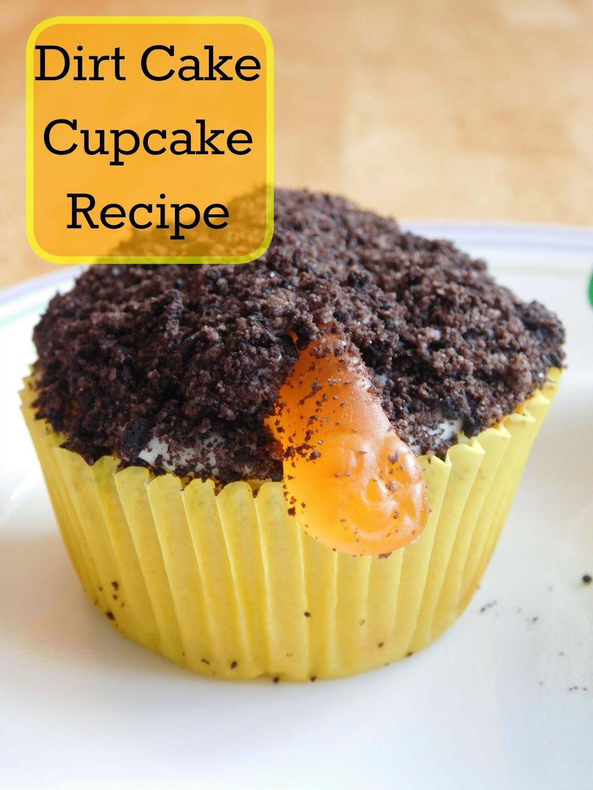 Dirt Cake Cupcakes