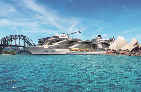 Ovation of the Seas Extends Maiden Season in Australia