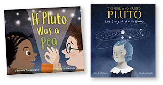 Two picture books about Pluto and the solar system