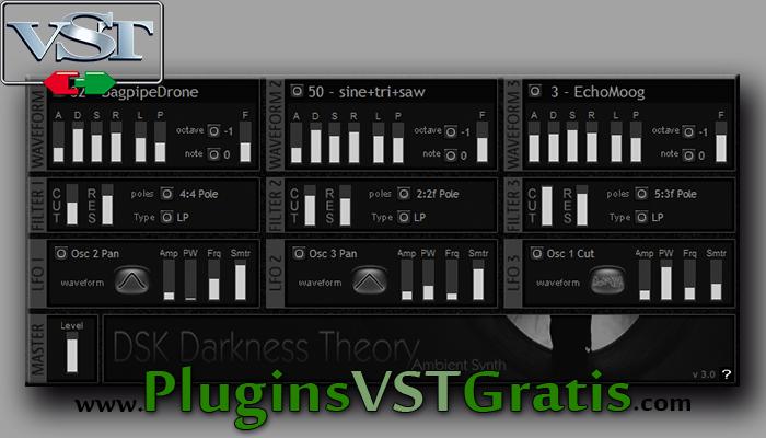 DSK Darkness Theory 3 - Plugin VST Sintetizador Grátis