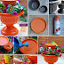 Make a beautiful Bird Bath by terracotta pot