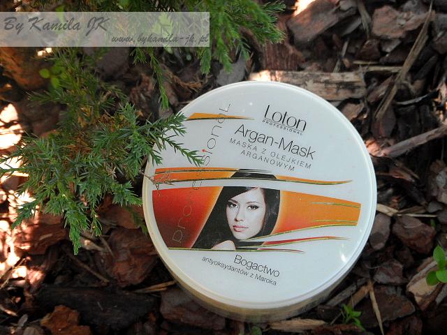 Loton Argan mask maska do włosów z olejem arganowym