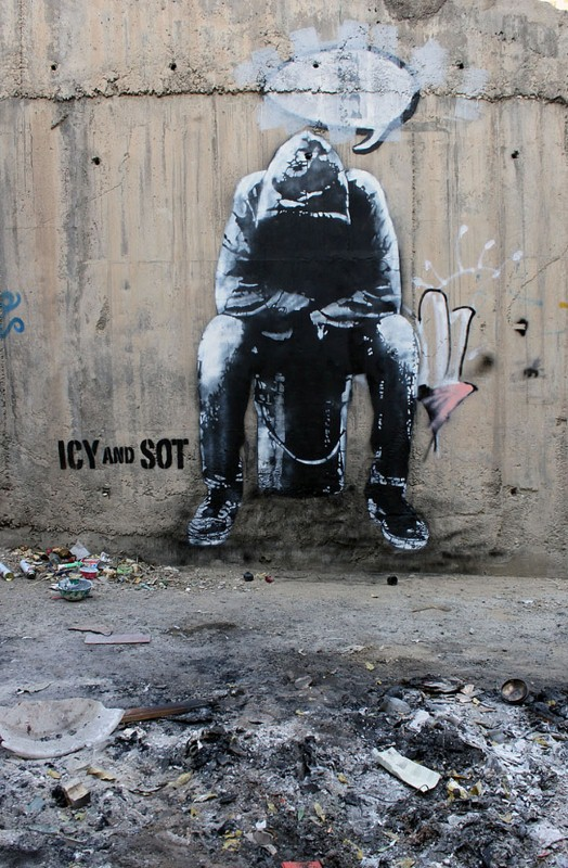 Уличные художники из Ирана. ICY и SOT 36