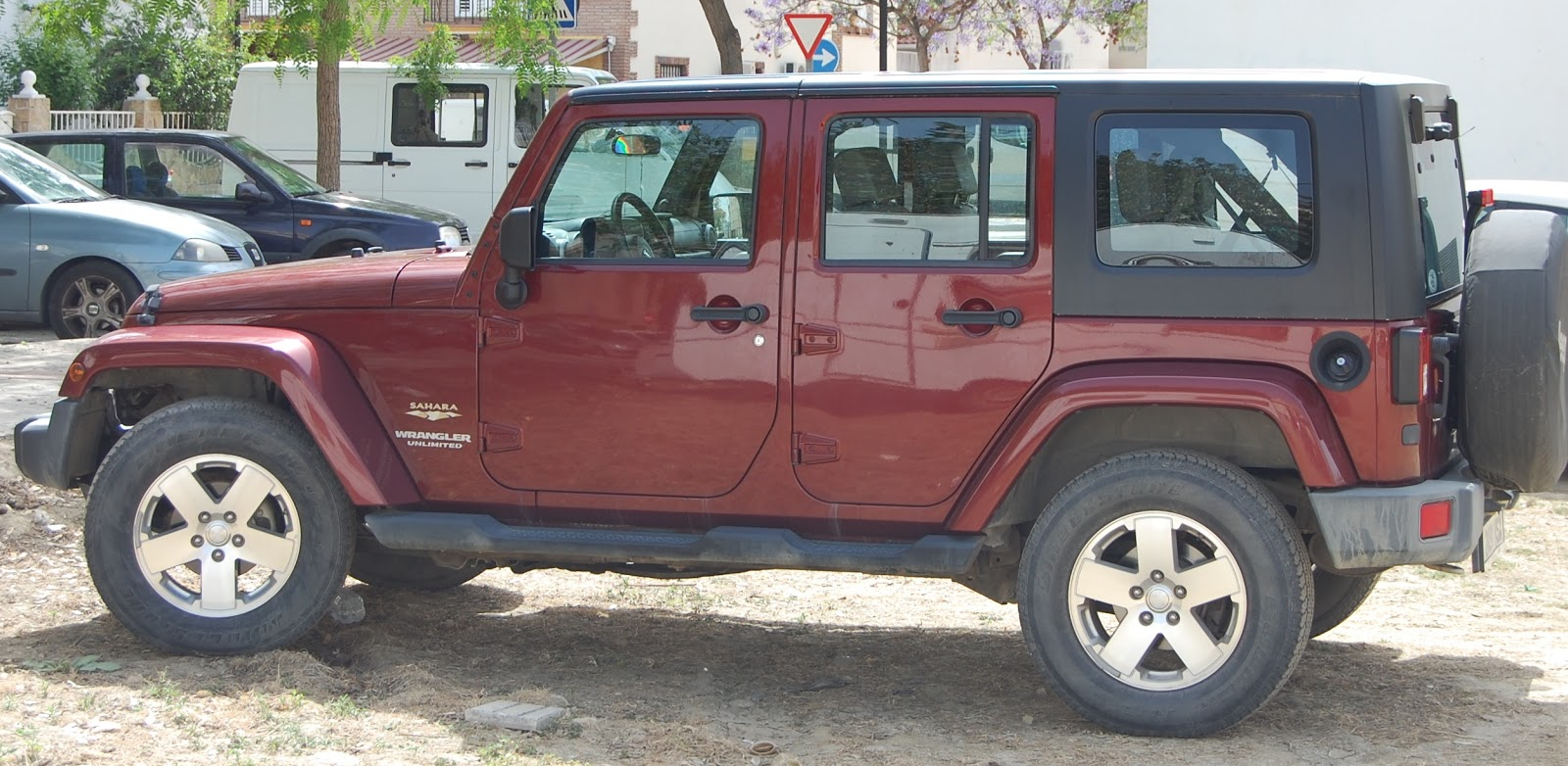 digame for sale wrangler unlimited sahara 4 door jeep. Black Bedroom Furniture Sets. Home Design Ideas