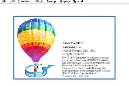 Download Software Corel Draw Version 2.0 for Computer or Laptop