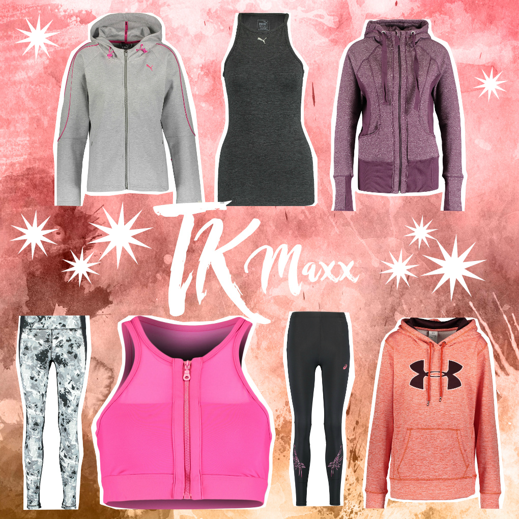 TK Maxx top picks - Under Armour, Asics, Puma