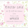 Easter Sale at the Shop ~ ♥