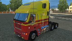 Freightliner Argosy Linfox skin