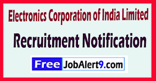 ECIL Electronics Corporation of India Limited Recruitment Notification 2017 Last Date 25-06-2017
