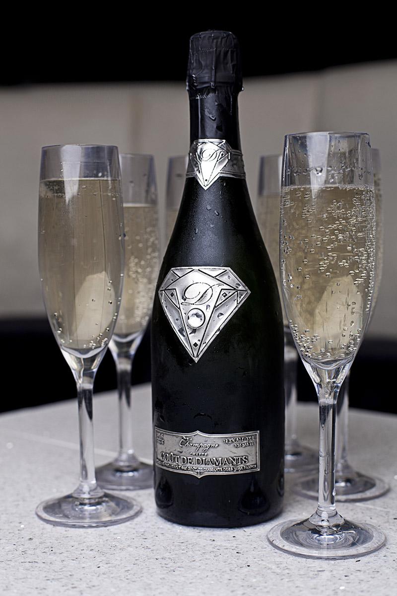 fancy champagne
