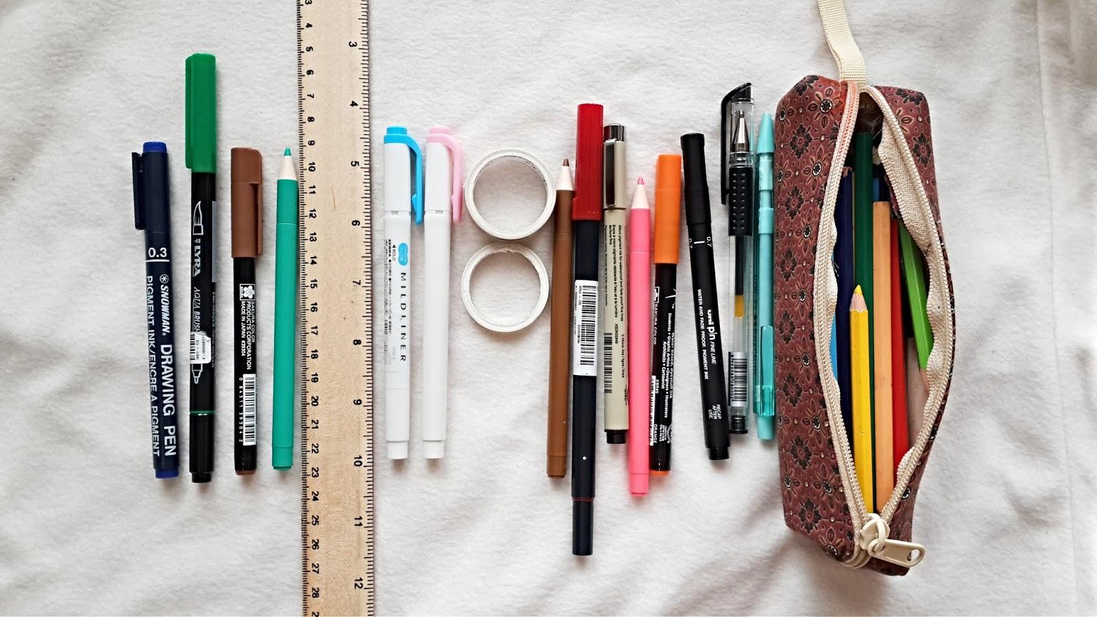 Jurnal Nataly 6 Alat Tulis Untuk Mempercantik Bullet Journal Indonesia