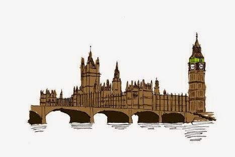 Parlamento inglês e o Big Ben