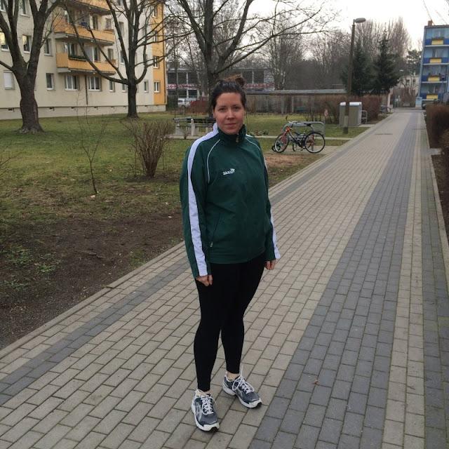 Caro geht joggen