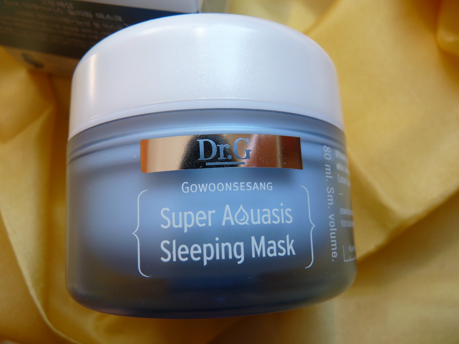 silnie nawilżająca maska nocna z algami