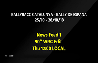 World Rally Championship Catalunya Biss Key Asiasat 5 26 October 2018