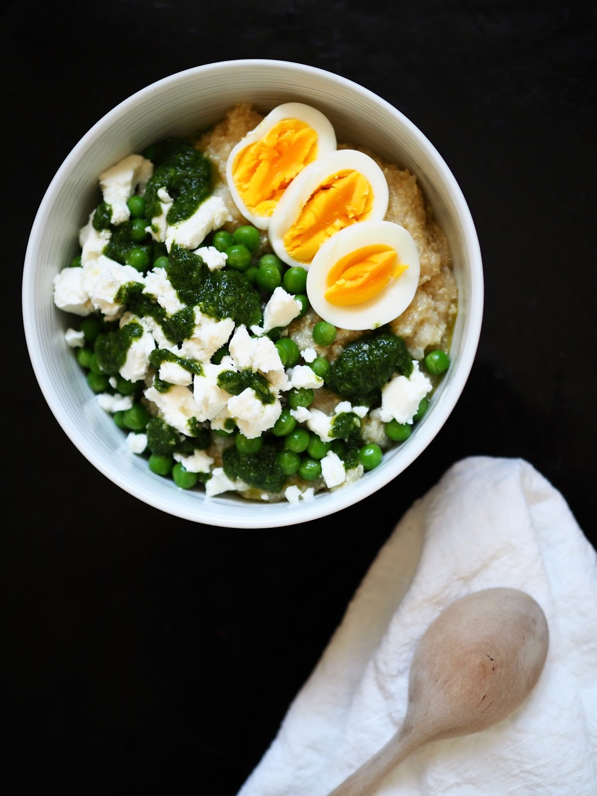 Savory porridge, suolainen puuro, suolainen kvinoapuuro, savory quinoa porridge, quinoapuuro
