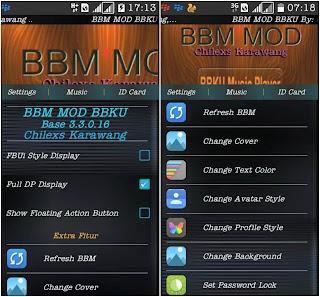 BBM BBKU Transparent Versi 3.3.0.16 Apk