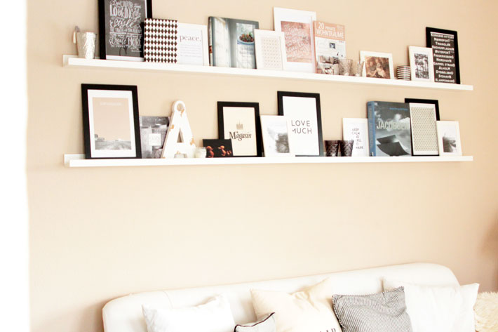 neue regale an der wand na endlich amalie loves denmark. Black Bedroom Furniture Sets. Home Design Ideas