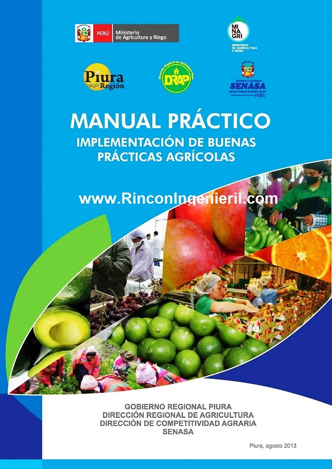 Manual Práctico: Implementación de buenas prácticas agrícolas