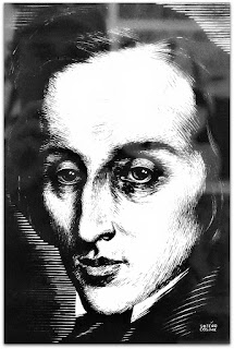 Frédéric François Chopin - Caricaturas Românticas de Sotero Cosme