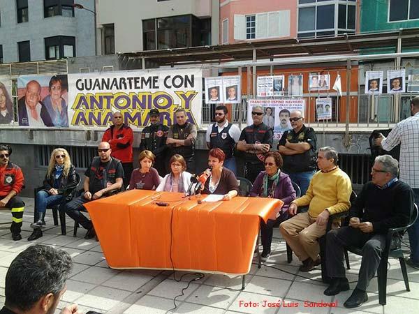 Se  desactiva la búsqueda del matrimonio de Guanarteme desaparecido en 2012, localizados cuerpos sin vida: Antonio Quesada Díaz y Ana María Artiles García