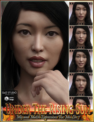 http://www.daz3d.com/under-the-rising-sun-mix-and-match-expressions-for-mei-lin-7-and-genesis-3-female-s