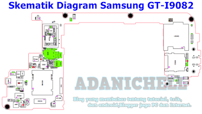 Skematik Digaram Samsung GT-I9082