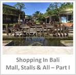 Sydney Fashion Hunter - Shopping In Bali Part 1