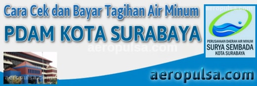 Cara cek dan bayar tagihan rekening PDAM Kota Surabaya