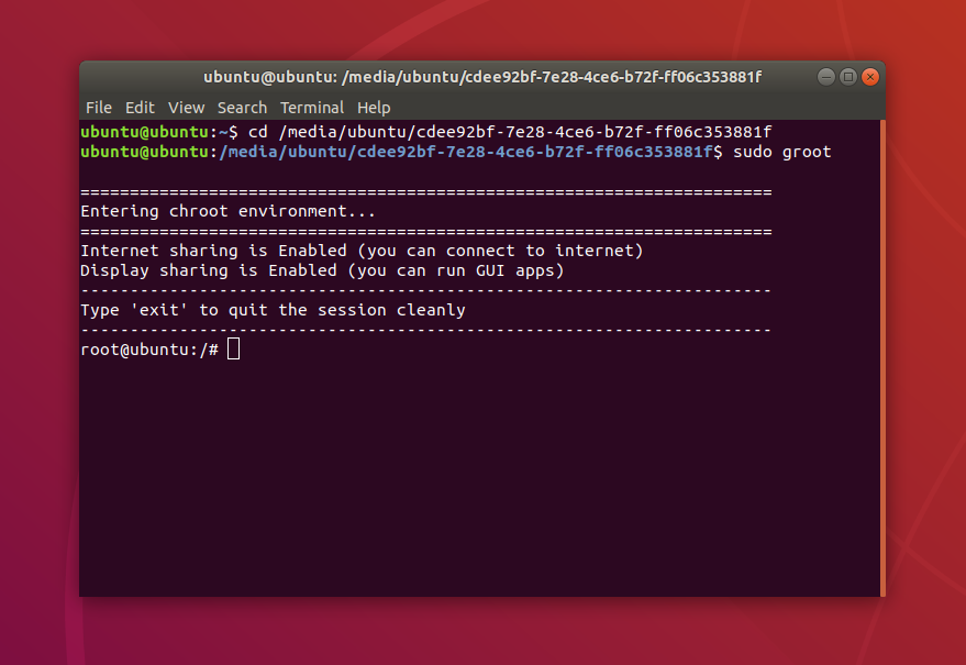 Groot Simplifies Entering Chroot On Any Linux Distribution