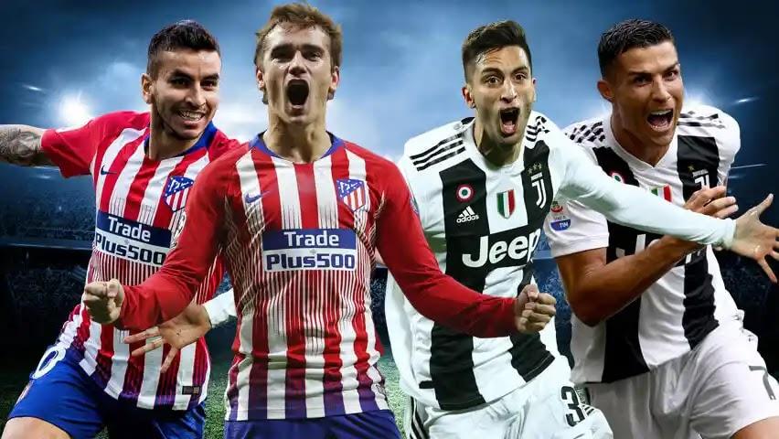موعد مباراة يوفننتوس القادمة ضد أتليتكو مدريد والتشكيل المحتمل والقنوات الناقلة