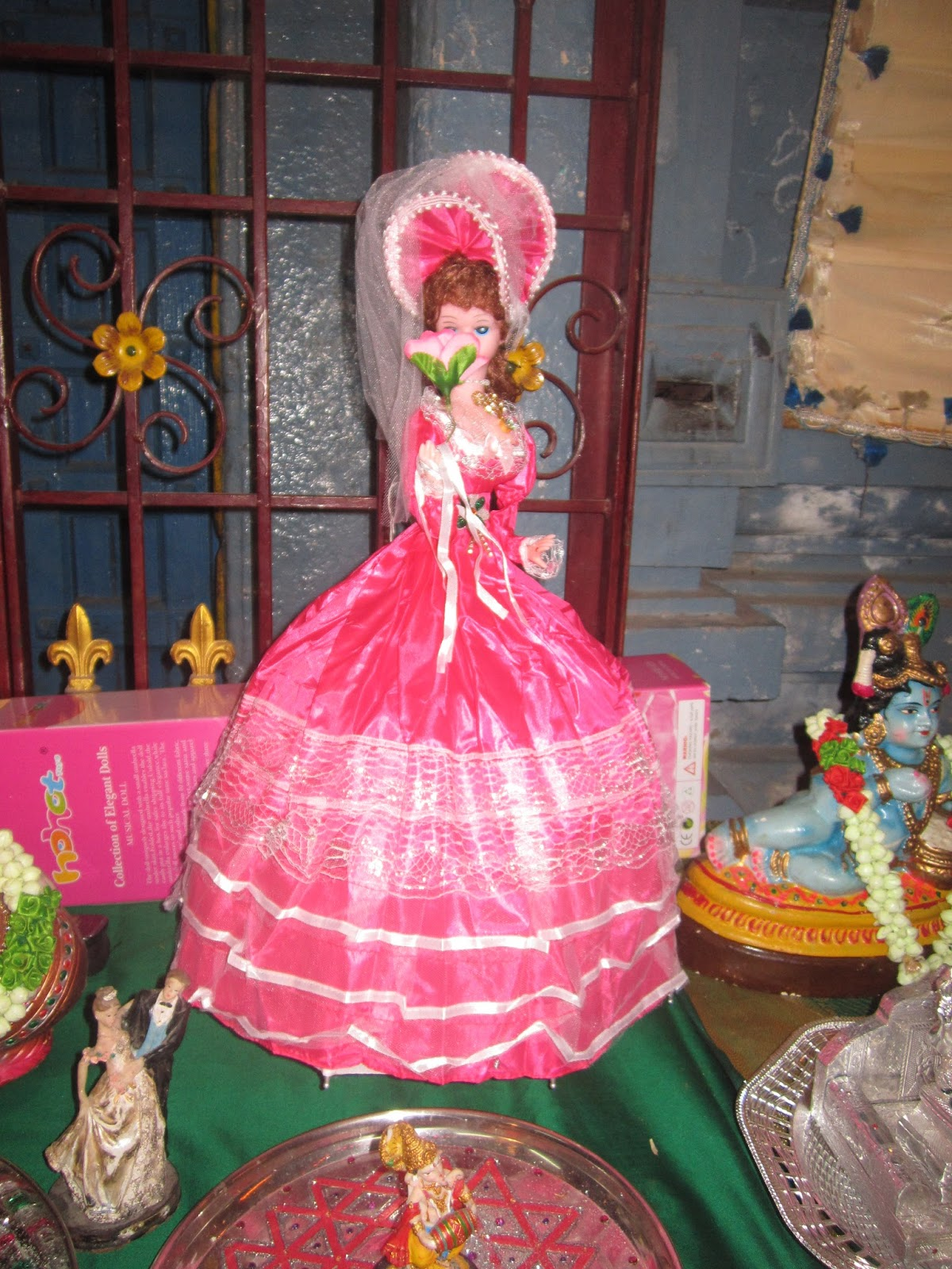 pooja arathi thattu decorator, vellore