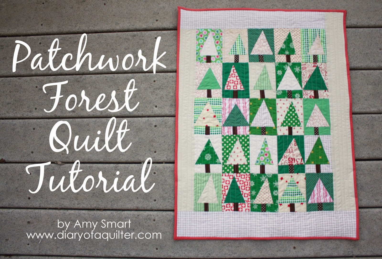 9 patch quilt block tutorial