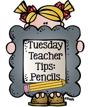 Tuesday Teacher Tips: Pencil Management at Fern Smith's Classroom Ideas