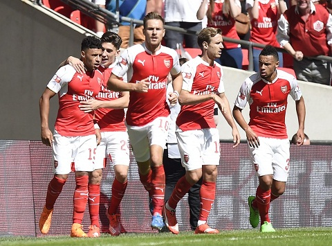 Câu lạc bộ Arsenal chơi vô cùng phong độ tại mùa giải