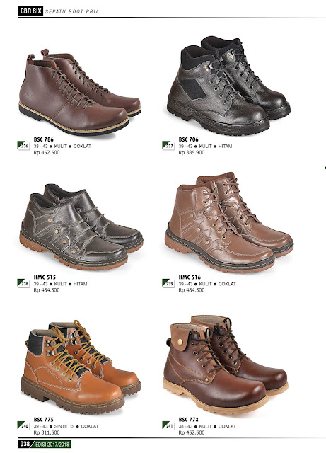 Katalog Produk Terbaru CBR 6 SIX 2017-2018 Sepatu dan Sendal 209c6386eb