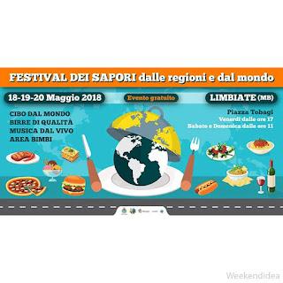Street Food Internazionale 18-19-20 maggio Limbiate (MB)