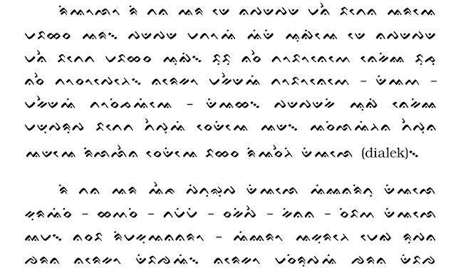 Buku yang menggunakan aksara Lontara
