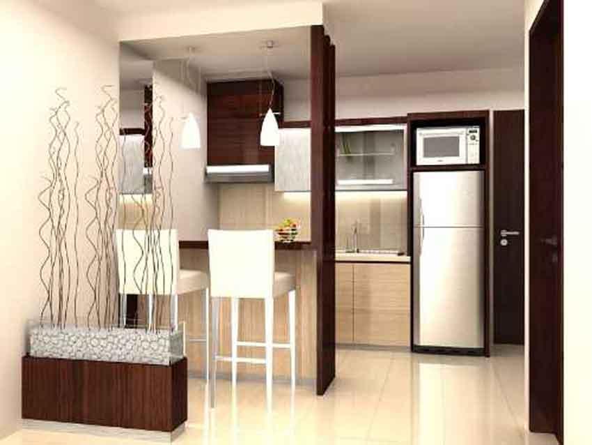 Contoh Gambar Desain Interior Dapur Minimalis   Desain ...