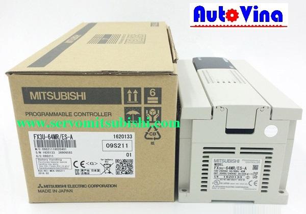 Đại lý phân phối, mua bán PLC Mitsubishi FX3U-64MR/ES-A